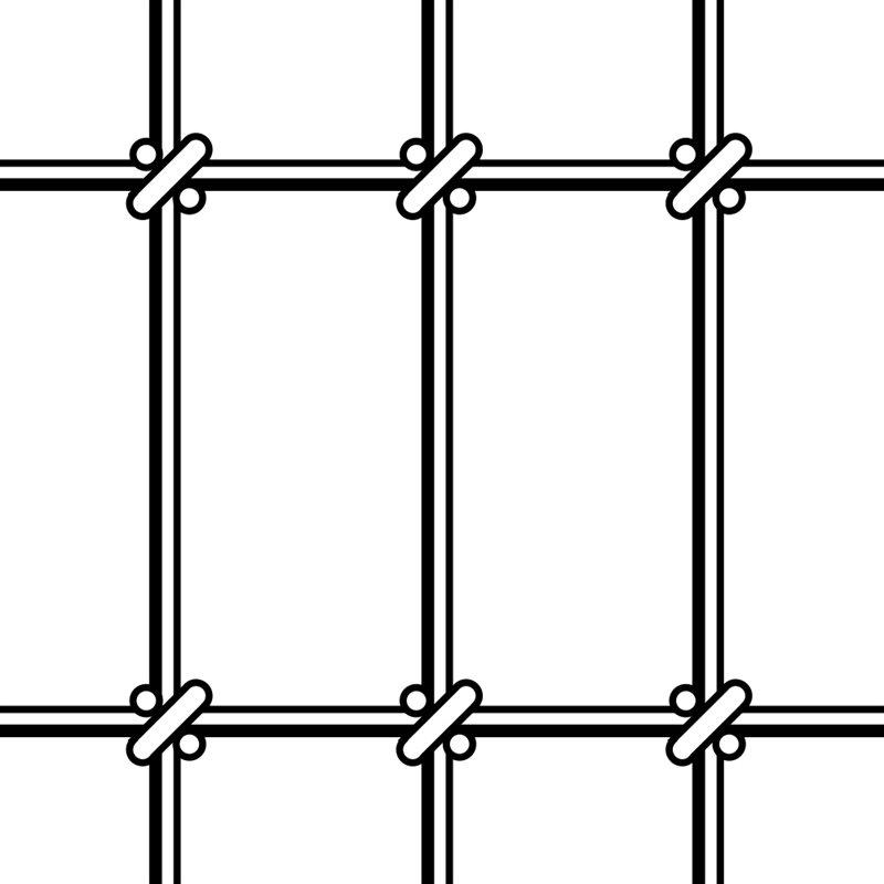 Clôture Non-Climb® (Noeud Square Deal®)