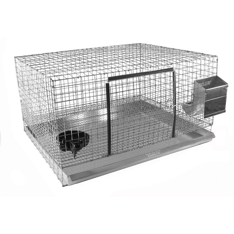 Accessoires pour construire des cages à lapins