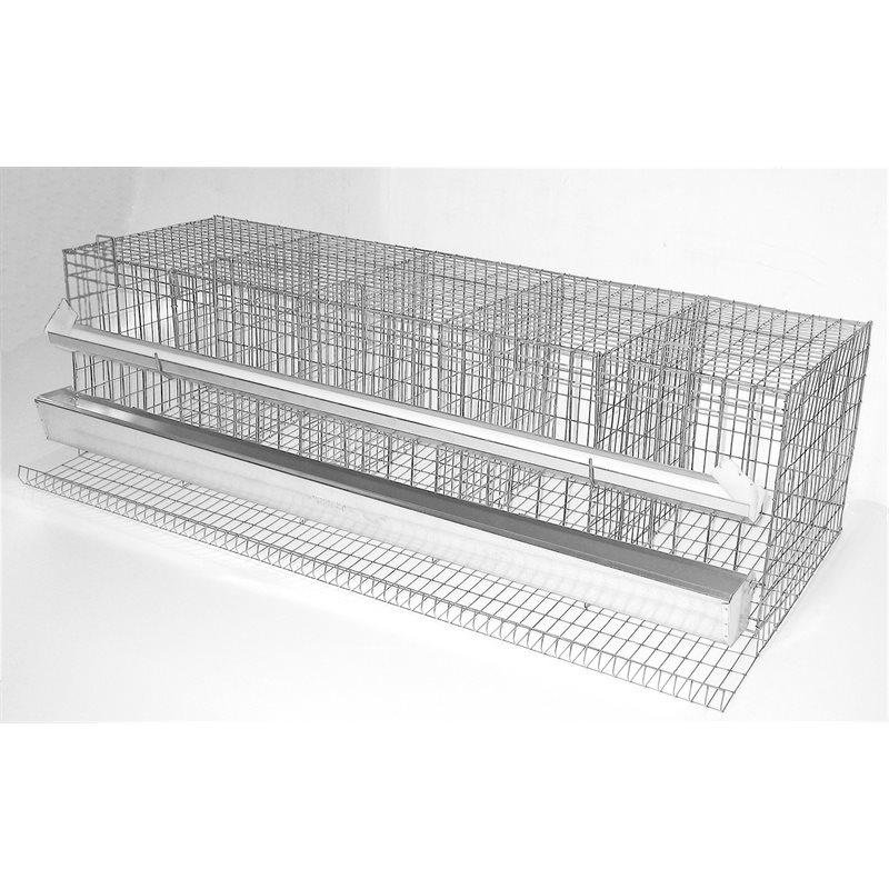 Accessoires pour construire des cages à volailles