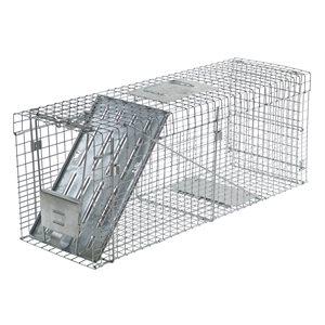 Piège pliable à ratons laveurs et marmottes