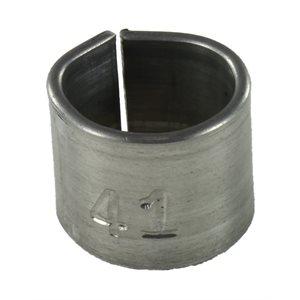 Bagues en aluminium