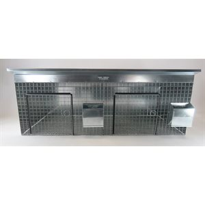 """24"""" X 24"""" Double Cage (Metal)"""