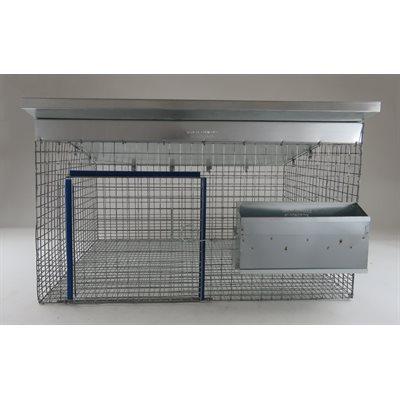 Cage toit en tôle 24 X 30