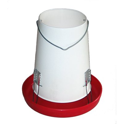 25 Lbs Plastic Poultry Feeder
