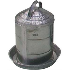 Fontaine en métal 2 gallons