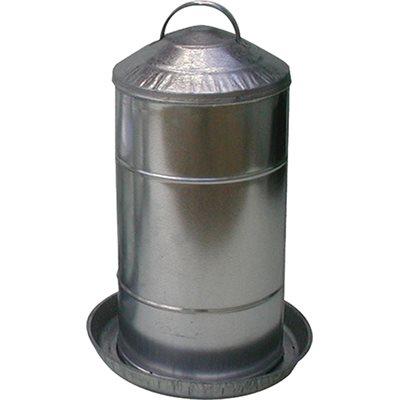 Fontaine en métal 8 gallons