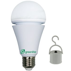 Ampoule d'urgence rechargeable