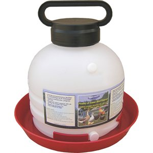 3 Gallon Top-Fill Poultry Fountain