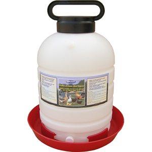 Abreuvoir 5 gallons (19 litres) pour volailles remplissage facile