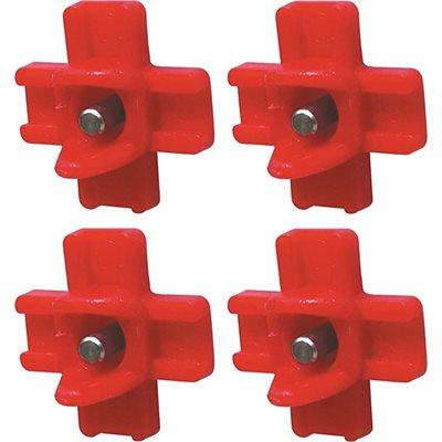 Tétines horizontales (Paquet de 4)