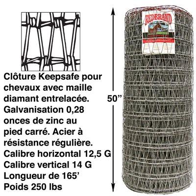 """Clôture 50"""" pour chevaux Keepsafe®"""