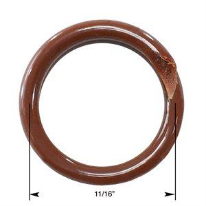 """Brown Ring 11 / 16"""""""