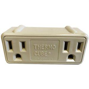 Thermo-cube (S'allume à 2°C, s'éteint à 7°C)