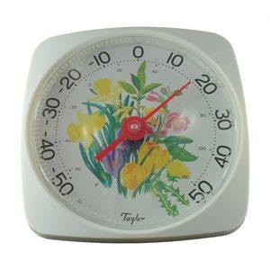 Thermomètre (fleurs)